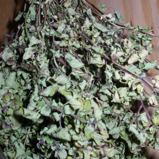 dried golden marjoram
